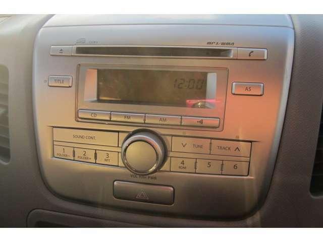 純正オーディオも装備されております!音楽を聴きながらドライブが楽しめます!