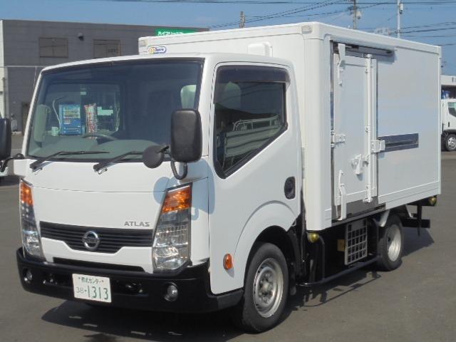 アトラス1.15t低温冷凍冷蔵車(-30度)入荷しました!!