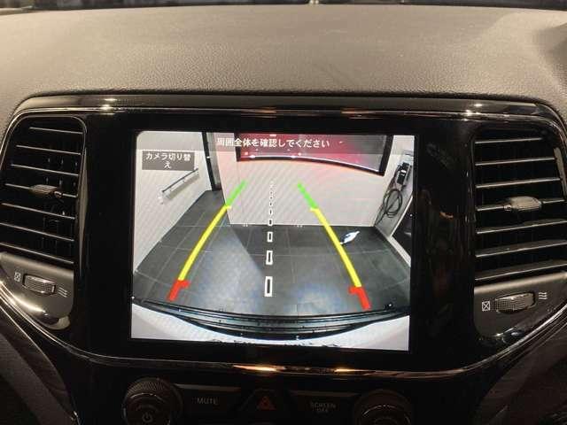 バックカメラも標準で装備されており、慣れないところの駐車も安心です。