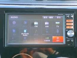 ナビ機能だけではなく、DVD再生、音楽録音、フルセグTV、Bluetooth機能つきであなたのドライブを快適にサポート♪