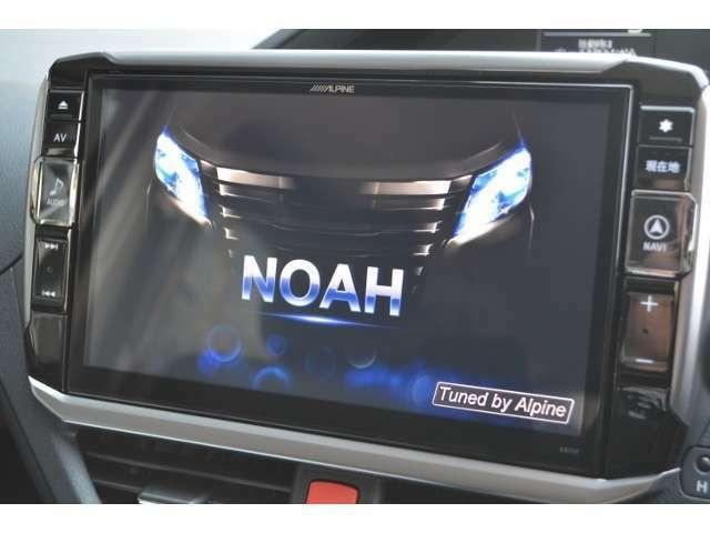 Aプラン画像:アルパインのNOAH専用!BIG-X 11インチナビとバックカメラ&パナソニック ETC車載器のお得なパッケージ!TVもDVDも大画面で見やすく、操作もし易くなっております!オーディオも専用チューニング済の高音質!
