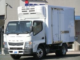 三菱ふそう キャンター 3.0 全低床 ディーゼルターボ 2トン 冷蔵冷凍車-30℃ 5MT バックモニター