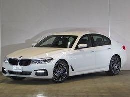 BMW 5シリーズ 523i Mスポーツ 認定中古車 純正ナビ 黒レザー ETC