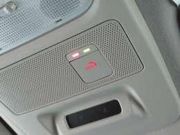 SOSコールボタン付き ナビと連動して事故や緊急時に駆け付けて助けてくれます (別途申し込み必要です)