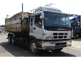 いすゞ ギガ アームロール 最大積載量 11300kg