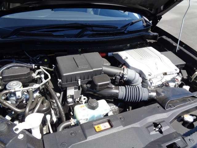 ☆エンジン排気量を2.4Lに拡大、PHEVシステムを改良、駆動用バッテリー容量を増大、さらにリアモーター出力をアップし力強い走りになったモデル☆