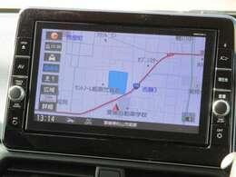 ◆9インチ日産オリジナルナビゲーション◆9インチの大画面だから地図が大きく見えます!もちろんアラウンドビューモニターの映像も大きく表示します!