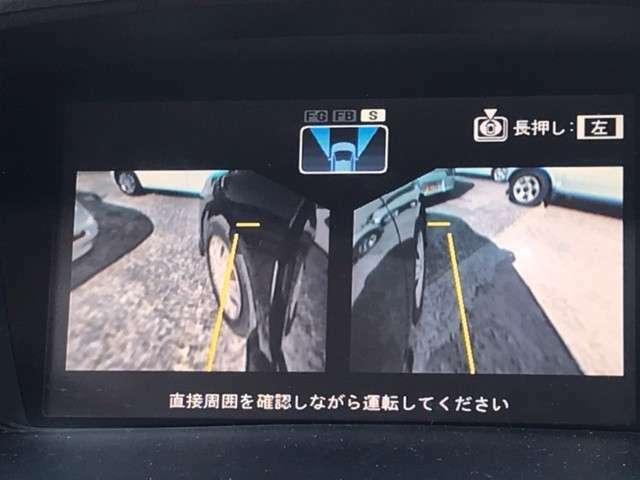 サイドカメラもついているので、狭い道でも安心ですね。