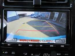 純正9型SDナビ付き♪ ガイド線付バックカメラで駐車も安心ですね♪ モニターも大きく駐車の不慣れな方でも安心ですね♪