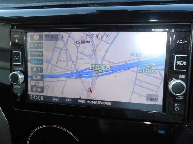 ☆MM316D-Wナビ、フルセグTV、DVD再生可、アラウンドビューモニターと充実装備です。