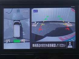 アラウンドビューモニター グルッとひとまわり画像で見渡せます~ 車庫入れや縦列駐車、旋回時などで、スムーズな取廻し~