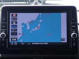 純正メモリーナビ(MM320D-L)付だから初めての場所へのお出かけも安心。地デジTVが見られDVDが再生出来ます。