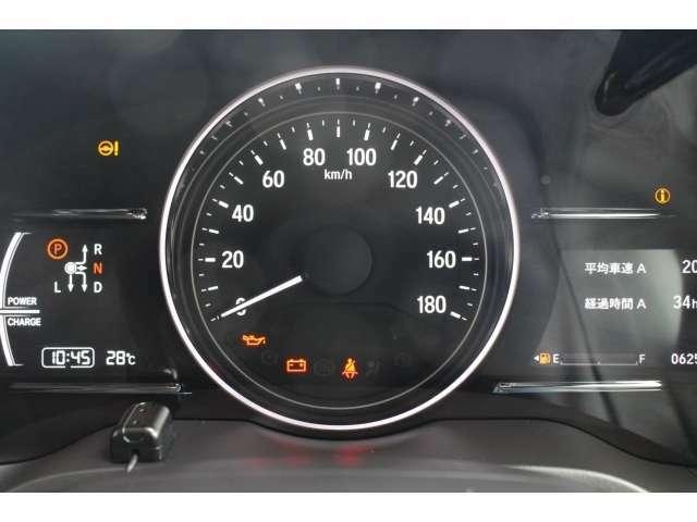 【メーター】メーターは大型で見やすく、スピードメーター、インフォメーションの数字も大きく、見やすくなっております♪
