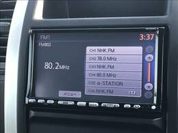 SDナビを装備。ナビTV・Bluetooth等の機能も使用できます!