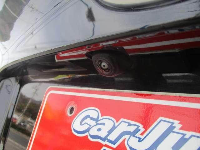 後ろの障害物もきっちり映します。後方の安全確認にはコレでしょ!