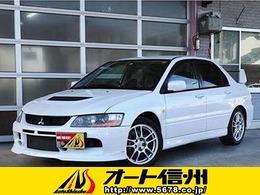 三菱 ランサーエボリューション 2.0 GSR IX MR 4WD ワンオーナー車 保証書&記録簿付