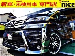 トヨタ ヴェルファイア 2.5 Z ゴールデンアイ 20アルミ 車高調 サンルーフデジタルミラー