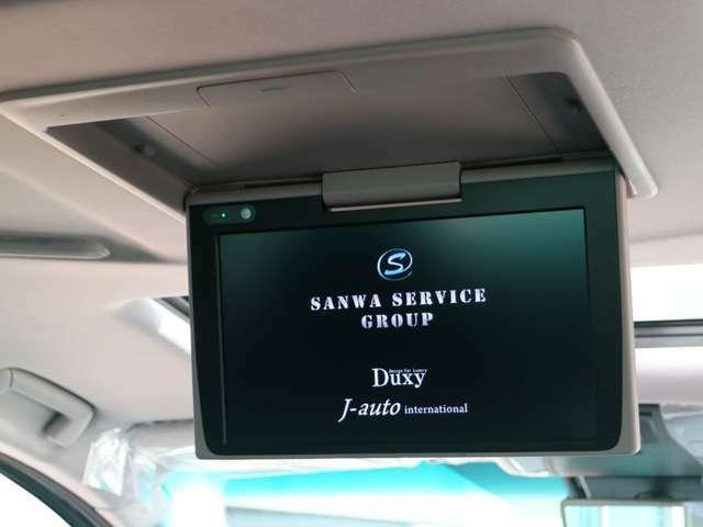 12.1型後席ディスプレイ☆美しい高精細HDディスプレイを採用☆