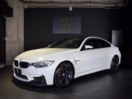 BMW M4クーペ M DCT ドライブロジック MパフォーマンスカーボンP/OP19inAW/Mサス