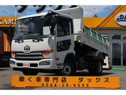 UDトラックス コンドル 4tダンプ 電動コボレーン 積載3.45t