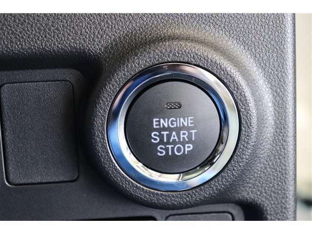 プッシュスタート付きで、エンジン始動もラクラクですよ☆