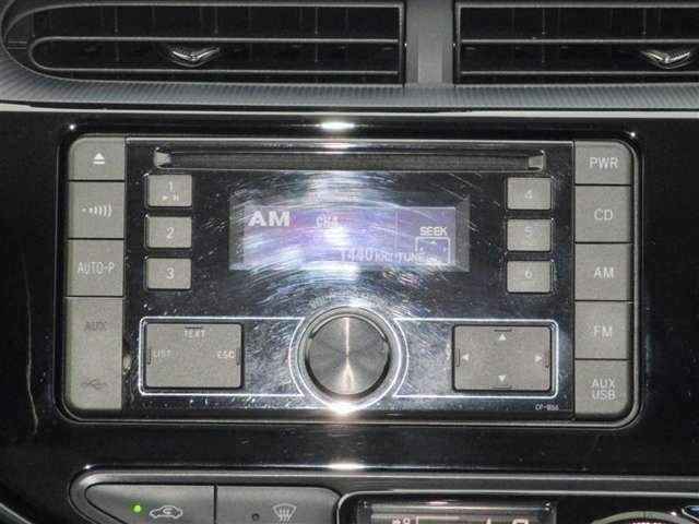 CD対応オーディオ