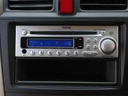 CDデッキでお好きなアーティストの音楽を聴きながら楽しくドライブお楽しみくださいね。
