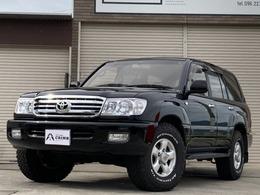 トヨタ ランドクルーザー100 4.2 VX ディーゼルターボ 4WD ベロフLED 新品タイヤ シートカバー