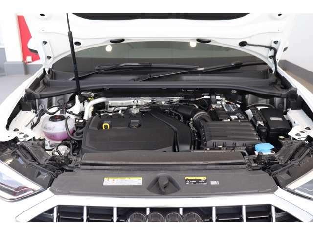 燃費・環境性能向上と余裕あるパフォーマンスを両立する直噴エンジン。