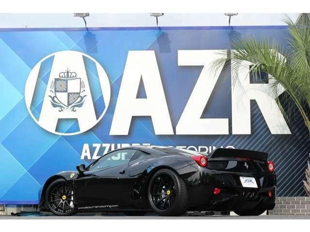 2012y フェラーリ 458 イタリア 新車並行 カスタム車輌入庫しました!