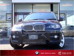 BMW X6 xドライブ 35i 4WD 8AT 黒革 フルセグ サンルーフ 1年保証
