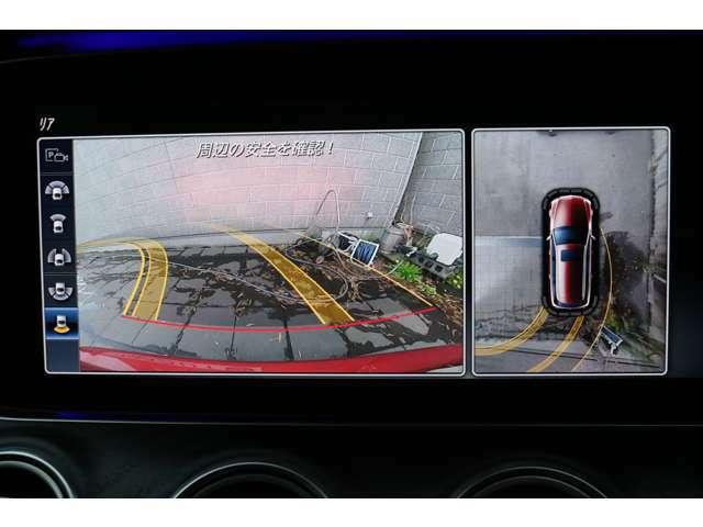 ガイドライン付バックビューモニターと360°カメラを装備!車体後方の視界確保もしっかりサポートしてくれます!狭い路地での駐車や車庫入れ時に安心して操作が可能です!