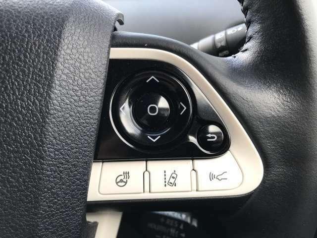 【ステアリングヒーター】ハンドルが暖かくなります。エアコンより素早く温まります!【アダプティブクルーズコントロール】車速を一定に保ち、先行車との距離によって自動減速や再加速する追従型です♪