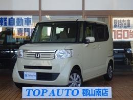 ホンダ N-BOX+ 660 G 車いす仕様車 4WD CD キーレス 横滑り防止 保証付