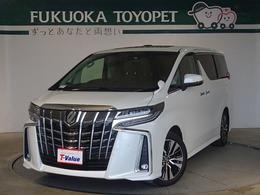 トヨタ アルファード 2.5 S Cパッケージ サポカー サンルーフ LED SDナビ