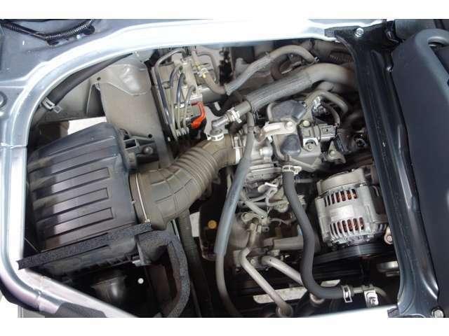 エンジン異音無く調子の良い状態です。勿論マフラからの白煙なども有りません。