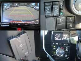 H28年式 タンク カスタムG-Tターボ 純正9インチナビ/DVD再生/ブルートゥース/ETC/バックカメラ/クルコン/両側電動スライドドア/衝突軽減ブレーキ/車線逸脱警報/LED/フォグ/純正アルミ/モデリスタエアロ
