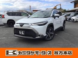 トヨタ カローラクロス 1.8 Z 5人乗り・シートヒーター・パワーシート