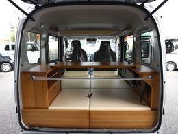 スズキ エブリイ 660 PA リミテッド ハイルーフ 4WD 軽キャンピングカー 車内泊 構造変更不要