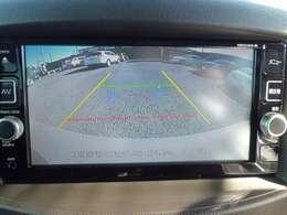駐車や車庫入れ時に大活躍のバックモニター
