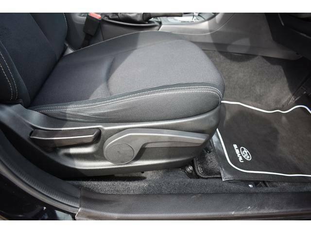 ドライバーに合わせてシートの細かい調整が可能です。