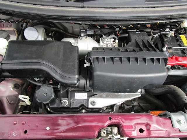 直列3気筒SOHC12バルブエンジン!
