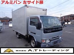 日産 アトラス H16  アルミバン 左サイド扉 ETC  準中型免許対応