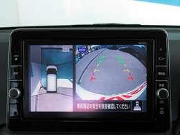 真上からの映像で車をサポートするアラウンドビューモニター☆
