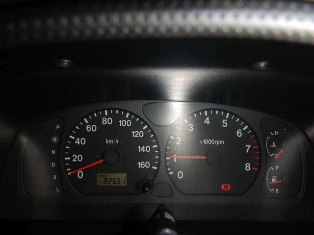 走行距離:約9.2万Km。まだまだ元気に走ります♪