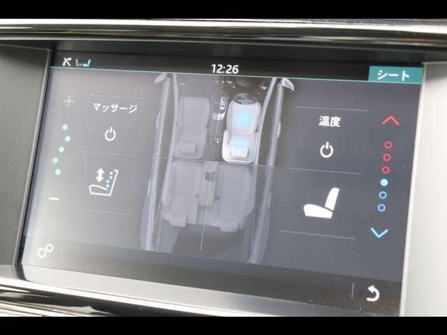 運転席・助手席にはシートヒーター&クーラー、マッサージ機能を完備し季節を選ばず快適に過ごせます。