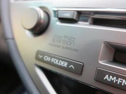 【マークレビンソサウンドシステム】メーカーオプションの高品位サウンドシステムを搭載。専用のチューニングが施された大小様々なスピーカーから良質なサウンドが奏でられ、臨場感あふれる音響空間を演出します。