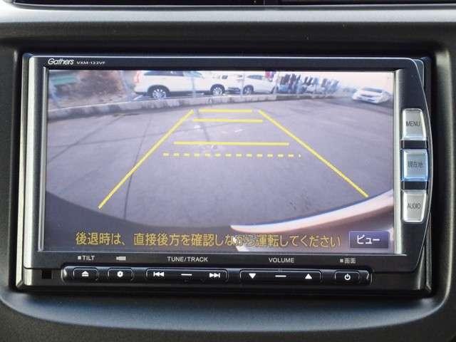 駐車時に便利なリアカメラです。