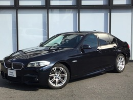 BMW 5シリーズ 528i MSport ブラックレザーシートバックカメラ