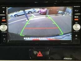 バックモニター付です。車は構造上たくさんの死角がありますので、万が一を考えると必須ですね。 あくまで補助の為の装備ですのでバックは目視で確認する事が重要ですよ!